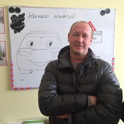 Болданс Антон инструктор по вождению в автошколе
